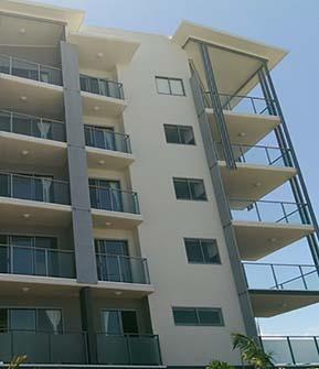Commercial Project Apartment Balustrading Sunshine Coast